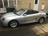 2003 Mg Tf In metallic Silver New rear Screen Mot Sept Cheap Summer Toy Service History