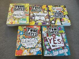 5 x Tom Gates books