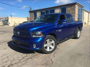 2016 Ram 1500 Sport 4WD WHAT A BARGAIN CREW LEATHER NAVIGATION M