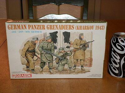 WW#2, GERMAN PANZER GRENADIERS -1943 Military Miniatures, Plastic Kit,Scale 1:35