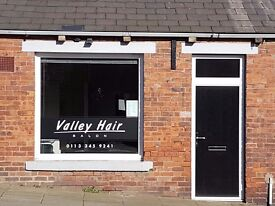 Hairdresser wanted to rent a chair in small friendly salon in Pudsey, Leeds