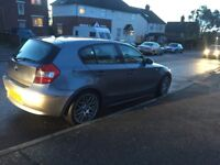 "BMW 1 series 120D 18"" alloys MOT"