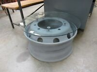 Coffee Table made from lorry wheel