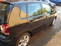 Black VW Polo Match