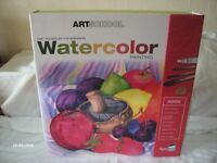 Watercolor painting set for beginners