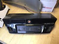 BMW 3 SERIES E46 COUPE CABRIO BOOT LID TAILGTE 1999-2006