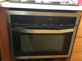 John Lewis Built in Combination Microwave Oven