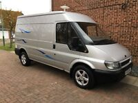 FORD TRANSIT CAMPER VAN - awning, double bed, TV/DVD player, 2 ring gas stove, small sink, portaloo