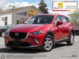 2017 Mazda CX-3 GS AWD,Auto.,Cheap on Gas