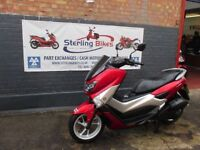 YAMAHA GPD125-A N.MAX RED COLOUR 2016 ABS LOW MILEAGE