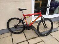 His and Hers mountain bikes Mens Canon British Eagle,ladies Hobby Mountain bike