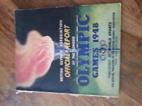 BRITISH OLYMPIC ASSOCIATION OFFICIAL REPORT OF LONDON OLYMPIC GAMES 1948