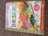 Water Colouring Dinosaur Book