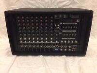 Sherwood Pro PMX600 600w Powered Mixer Amp With 256 Effects For Vocal PA Karaoke