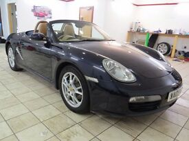 !!FSH!! 2005 PORSCHE BOXSTER 987 / CONVERTIBLE / MOT APRIL 2018 / SERVICED / TAN LEATHER / MUST SEE