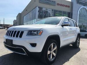 2015 Jeep Grand Cherokee Limited -Leather - P.sunroof - Navigati