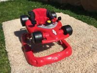 Formula 1 F1 Racing Car Baby Walker with racing sounds