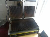 Panini Grill / Waffle Maker / Dry Bain Marie. All 3 items in top condition , hardly used.