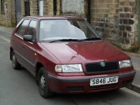 skoda felicia 1.3 mpi No MOT welding done on underside just needs ball joints and brake cylinder
