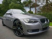 (Space Grey) 2007 BMW 330d SE Coupe 228bhp (Manual) New 19 Inch M Sport Alloys! FSH, MOT'D FEB 2019