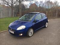 2008/08 Fiat Punto Sporting 1.9 Multi-Jet✅FULL LEATHER✅PAN-ROOF✅RARE CAR✅MOT MAY 18✅