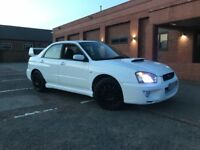Subaru Impreza wrx turbo in white, hpi clear boost gauge, sti spoiler, drives superb, 12 months mot