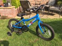 Ridgeback MX16 Terrain bike with stabilisers