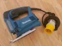 Makita 4329 450w jigsaw saw 110v metal wood new