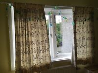 Funky kids curtains