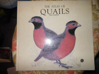 THE ATLAS OF QUAILS DAVID ALDERTON LARGE SPECIALIST HARDBACK BIRD BOOK 1992