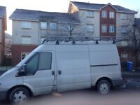 Rhino roof rack for ford transit
