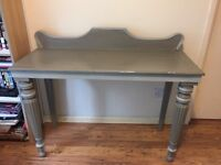 Beautiful shabby chic dressing table with ornate detailing, hand painted in Annie Sloan chalk paint