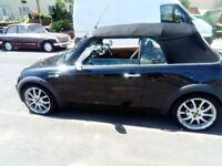 Black Mini convertible for sale