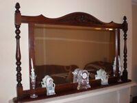 Old Charm Tudor Brown Solid Oak Mirror