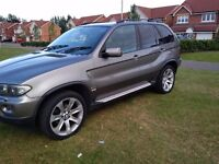 2006 06 BMW X5 3.0d SPORT EXCELLENT CONDITION FSH SAT NAV/TV (MAY PX P/X PART EXCHANGE CHEAPER CAR)