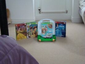 Children's LeapFrog Tag Reading System and books