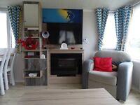 2016 8 berth 3 bedroom luxury caravan on Perran Sands holiday park in Perranporth