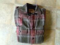 Mens Checked Shirts, Medium size, Hardly Worn, Very Good Condition.