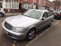 Mercedes Benz S Class 3.2 Diesel CDI Keyless Start Keyless Entry Rear Feature 10 Stamps 2 Owners