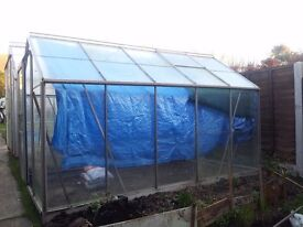 Greenhouse 6x10 Single Door Base All Dismantled Ready To Go