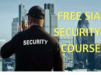 FREE SIA Security Course & Badge*