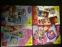 SET OF 4 CHILDRENS PLAYING CARDS **IDEAL STOCKING FILLER** NEW/UNUSED