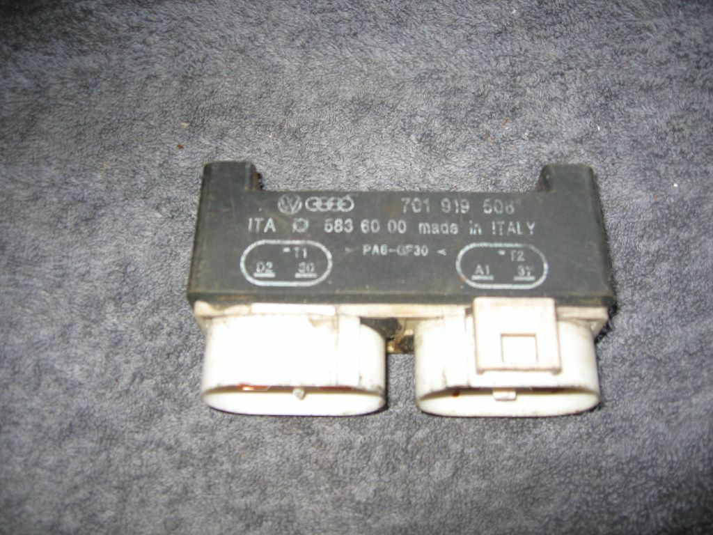 Vw Transporter T4 Glow Plug Relay 701 919 506 In