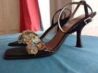 Party designer heel, size 4, Franco Banetti