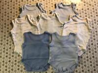 Newborn boys vests