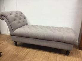 Chesterfield styled day bed/chaise lounge