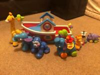 Fisher Price Noah's Ark with extra animals