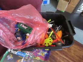 Massive collection of Knex pieces