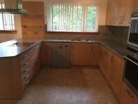 Complete Oak Kitchen for sale