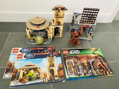 Lego Star Wars Combo - Jabba's Palace And The Rancor Pit (Includes All Figures)